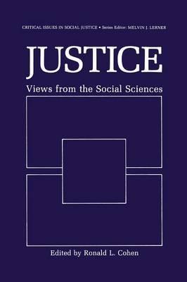 Justice: Views from the Social Sciences
