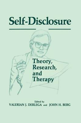 Self-Disclosure: Theory, Research, and Therapy
