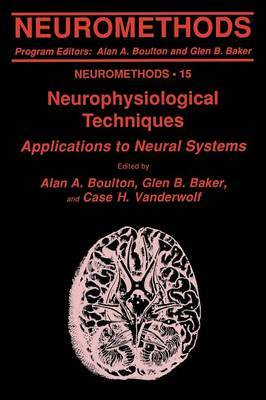 Neurophysiological Techniques: Applications to Neural Systems