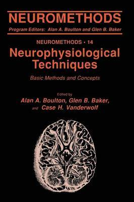 Neurophysiological Techniques: Basic Methods and Concepts