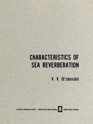 Characteristics of Sea Reverberation