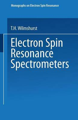 Electron Spin Resonance Spectrometers