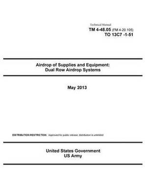 Technical Manual TM 4-48.05 (FM 4-20.105) to 13c7-1-51 Airdrop of Supplies and Equipment: Dual Row Airdrop Systems May 2013