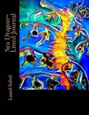 Sea Dragon Lined Journal