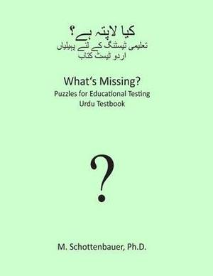 What's Missing? Puzzles for Educational Testing: Urdu Testbook