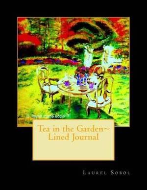 Tea in the Garden Lined Journal