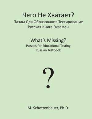 What's Missing? Puzzles for Educational Testing: Russian Testbook