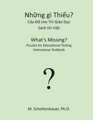 What's Missing? Puzzles for Educational Testing: Vietnamese Testbook
