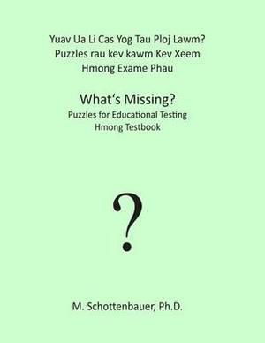 Yuav Ua Li Cas Yog Tau Ploj Lawm? Puzzles Rau Kev Kawm Kev Xeem: Hmong Exame Phau