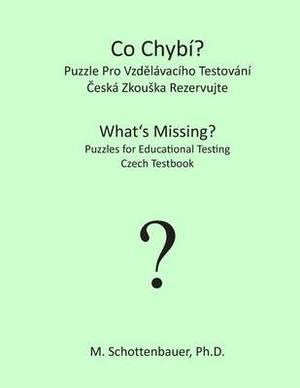 What's Missing? Puzzles for Educational Testing: Czech Testbook