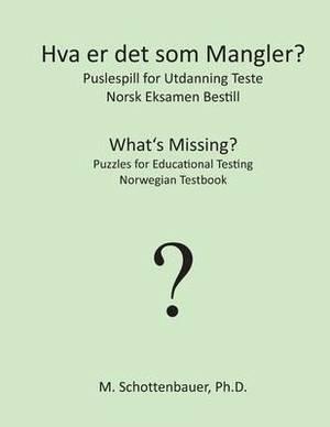 Hva Er Det SOM Mangler? Puslespill for Utdanning Teste: Norsk Eksamen Bestill
