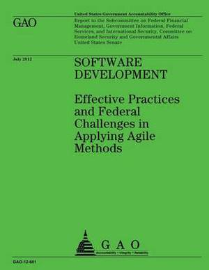 Software Development: Effective Practices and Federal Challenges in Applying Agile Methods
