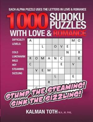 1000 Sudoku Puzzles with Love & Romance
