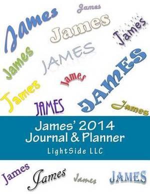 James' 2014 Journal & Planner