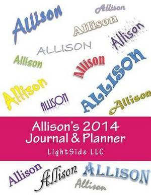 Allison's 2014 Journal & Planner