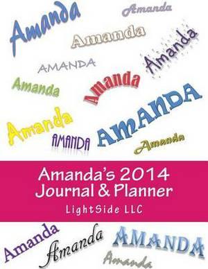 Amanda's 2014 Journal & Planner