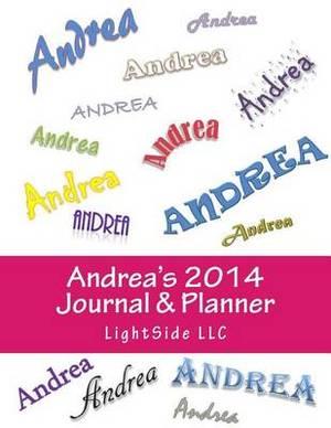 Andrea's 2014 Journal & Planner