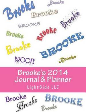 Brooke's 2014 Journal & Planner