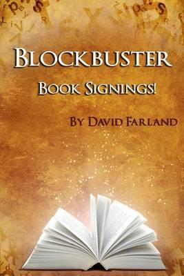 Blockbuster Book Signings