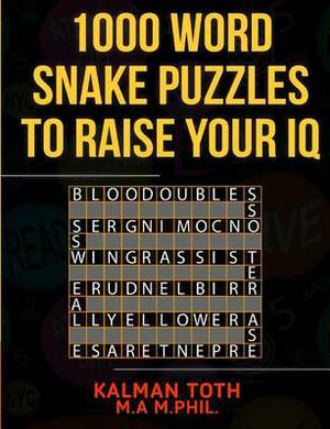 1000 Word Snake Puzzles to Raise Your IQ