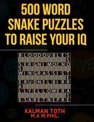 500 Word Snake Puzzles to Raise Your IQ