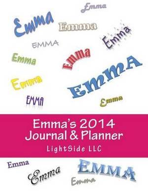 Emma's 2014 Journal & Planner