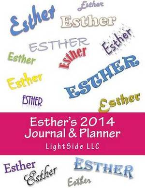 Esther's 2014 Journal & Planner