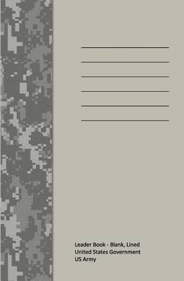 Leader Book - Blank, Lined