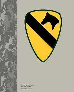 1st Cavalry Division Notebook Blank, Lined, 200 Pages