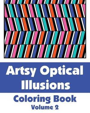 Artsy Optical Illusions Coloring Book