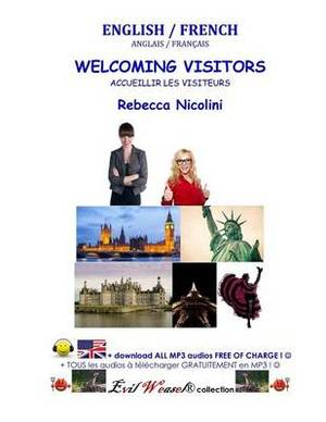 English / French: Welcoming Visitors: Color Version
