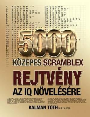 5000 Kozepes Scramblex Rejtveny AZ IQ Novelesere