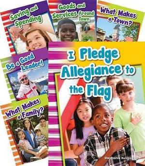 Social Studies Grade 1 10-Book Set (Content and Literacy)