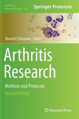 Arthritis Research: Methods and Protocols