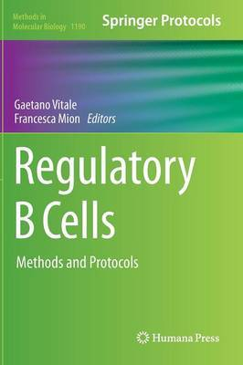 Regulatory B Cells: Methods and Protocols