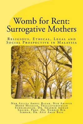 Womb for Rent: Surrogative Mothers: Religious, Ethical, Legal and Social Prospective in Malaysia
