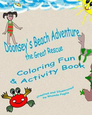 Doonsey's Beach Adventure, the Great Rescue: Doonsey's Coloring Fun and Activity Book