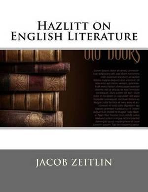 Hazlitt on English Literature