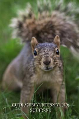 Cute Animal Journal #19: Squirrel (Blank Pages): 200 Page Journal