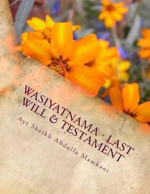 Wasiyatnama - Last Will & Testament