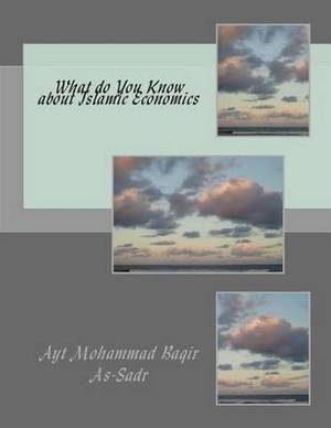 What Do You Know about Islamic Economics