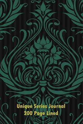 Unique Series Journal 200 Page Lined Pattern #1: Blank 200 Page Lined Journal for All of Your Thoughts, Ideas, and Inspiration.