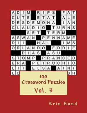 100 Crossword Puzzles Vol. 3