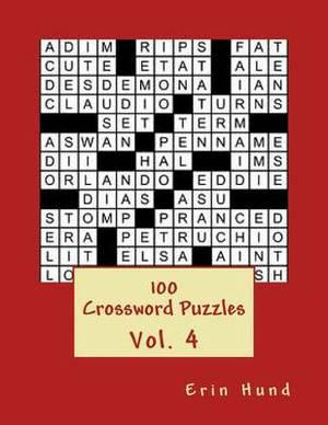 100 Crossword Puzzles Vol. 4