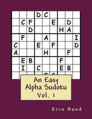 An Easy Alpha Sudoku Vol. 1