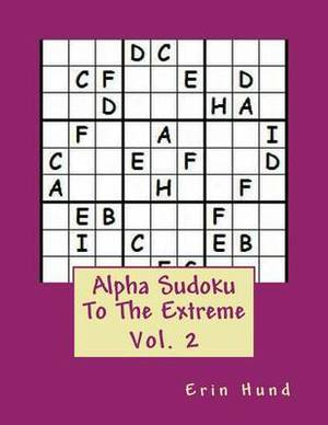 Alpha Sudoku to the Extreme Vol. 2