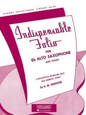 Indispensable Folio - Eb Alto Saxophone and Piano