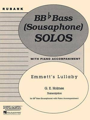 Emmett's Lullaby: Tuba Solo in C (B.C.) with Piano - Grade 4