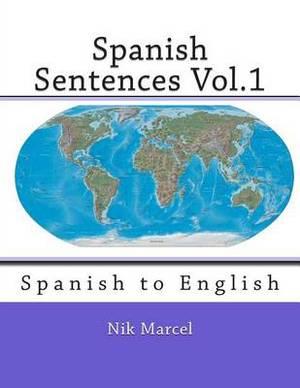 Spanish Sentences Vol.1: Spanish to English