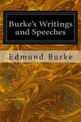 Burke's Writings and Speeches: Volume the First Advertisement